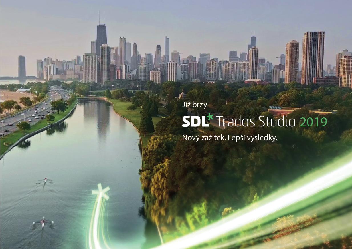 SDL Trados Studio 2019 se blíží